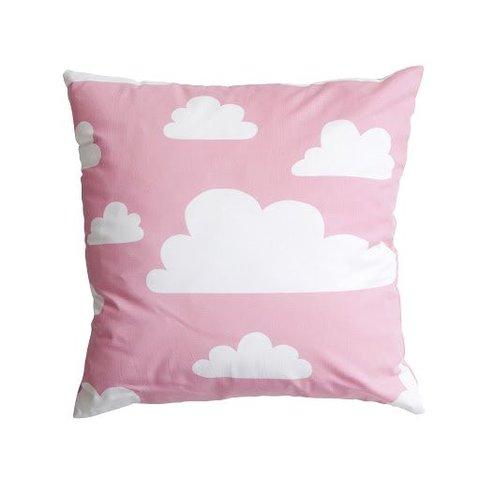 Farg & Form kussenhoes wolkjes roze