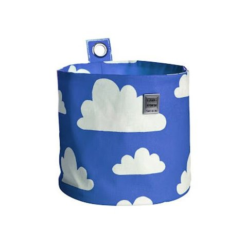 Farg en Form ophangmandje wolken blauw groot