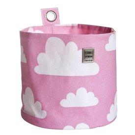 Farg & Form Zweden Farg en Form ophangmandje wolken roze groot