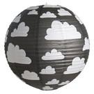 Farg & Form Zweden Farg en Form kinderlamp wolken zwart