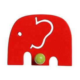 Franck & Fischer Franck and Fischer kapstokje olifant rood