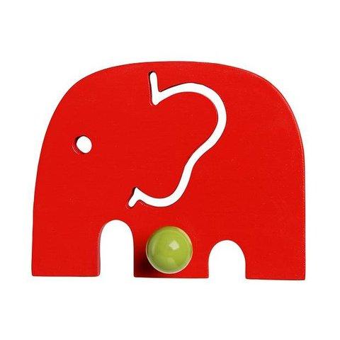 Franck and Fischer kapstokje olifant rood