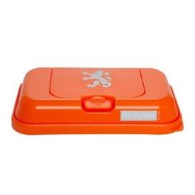 funkybox Funkybox To Go bewaardoos voor snoetenpoetsers oranje leeuw
