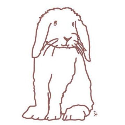 Mimilou muursticker konijn