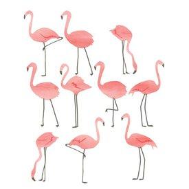 Mimi'lou Mimilou muursticker flamingo's mini