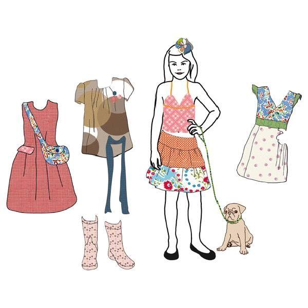 Mimi'lou Mimilou muusticker aankleedpop