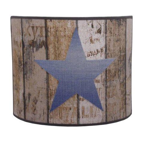Juul Design wandlamp ster woodstock