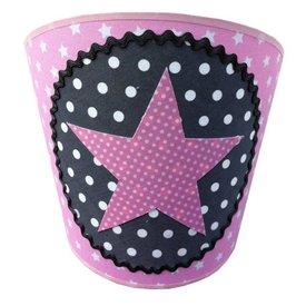Juul Design Juul Design wandlamp ster roze