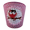Juul Design wandlamp uil roze