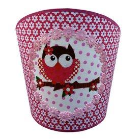 Juul Design Juul Design wandlamp uil roze