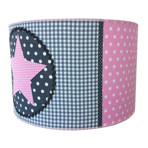 Juul Design kinderlamp ster roze