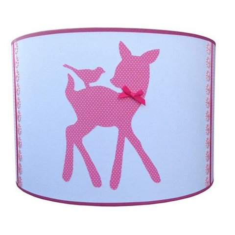 Juul Design kinderlamp bambi roze