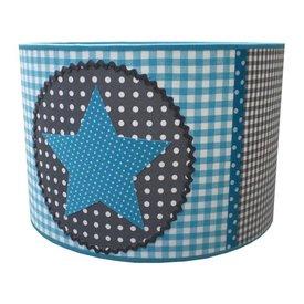 Juul Design Juul Design kinderlamp star lichtblauw