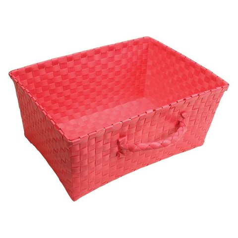 Handed By opbergmand Lucca pink met handvat