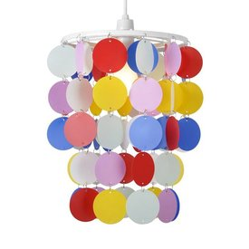 Kinderlamp confetti multikleur