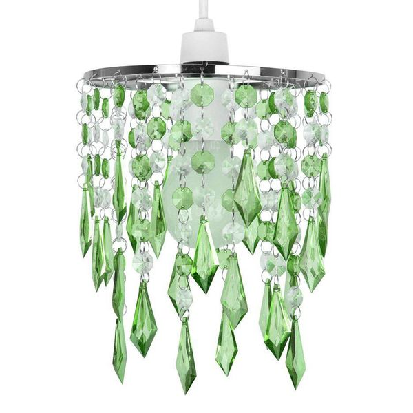 Kinderlamp kroonluchter groen klein