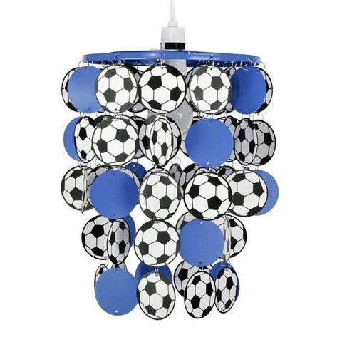 Kinderlamp voetbal blauw