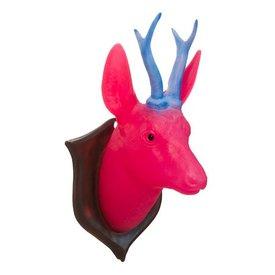 Heico figuurlampen Wandlamp hert roze