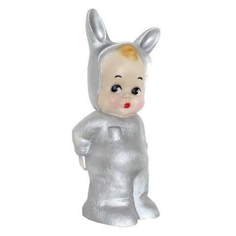 Kinderlamp konijn Lapin & Me zilver