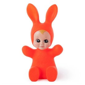 Goodnight Light Kinderlamp konijn baby bunny neon rood