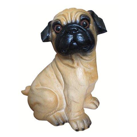 Figuurlamp hond bulldogje Mops