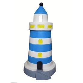 Heico figuurlampen Kinderlamp vuurtoren blauw groot