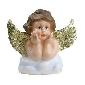 Heico figuurlampen Figuurlamp engel goudglitters