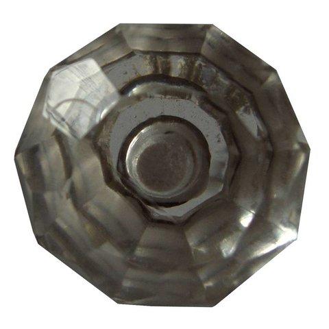 Deurknop glas diamant