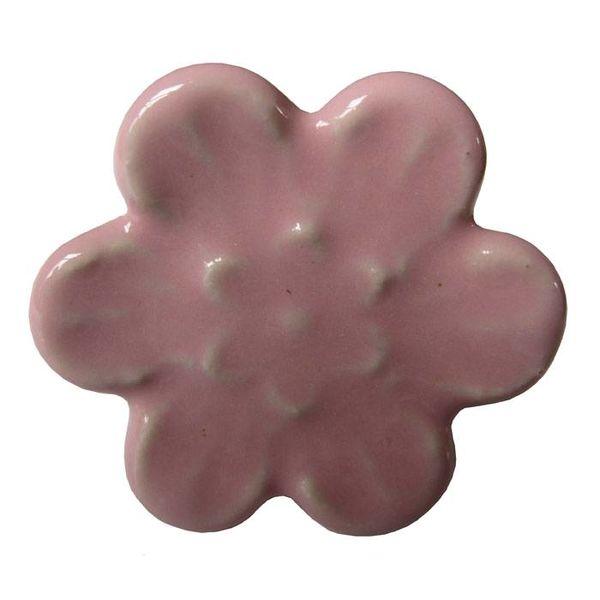 Harvey's Home Deurknop relief bloem roze