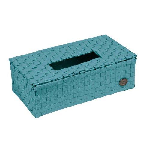 Handed By tissue box Luzzi petrol