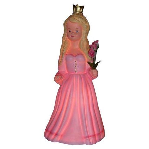 Figuurlamp prinses roze