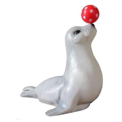 Figuurlamp zeehond met bal
