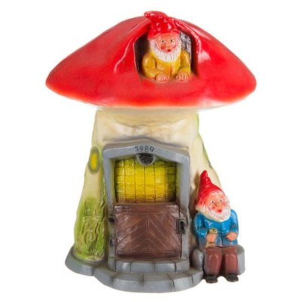 Heico figuurlampen Figuurlamp paddenstoel kabouterwoning