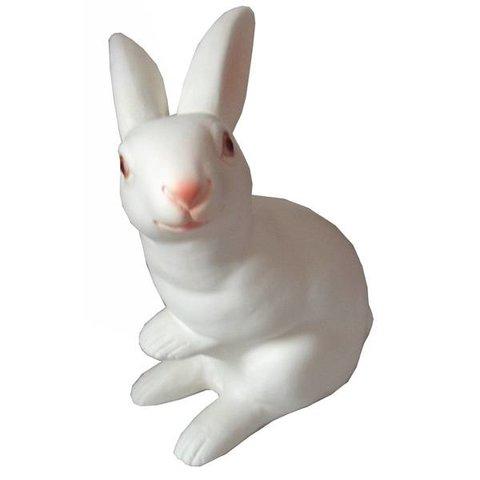 Figuurlamp wit konijn groot