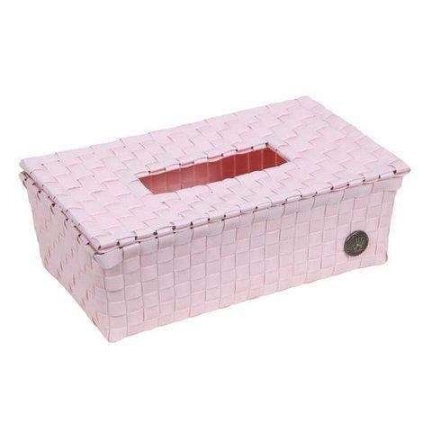 Handed By tissue box Luzzi powder pink
