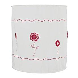 Taftan Taftan kinderlamp gehaakte bloemen roze