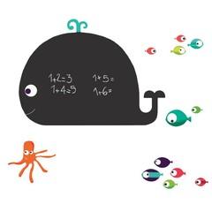 Krijtbord & Schoolbord muurstickers