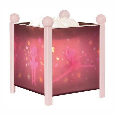 Trousselier magische lamp ballerina roze