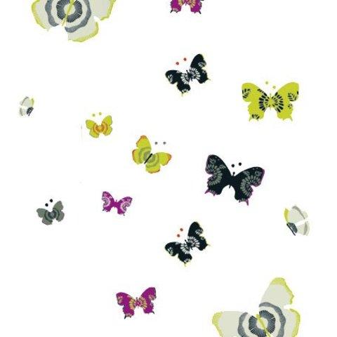 Nouvelles Images muurstickers vlinders