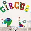 Nouvelles Images muurstickers circus