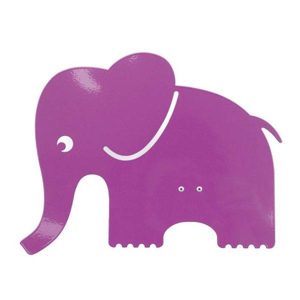 Roommate Roommate wandlamp olifant roze