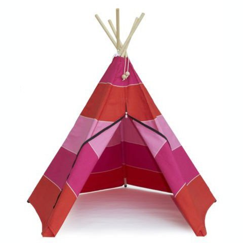 Roommate Hippie Tipi wigwam Native sunset red