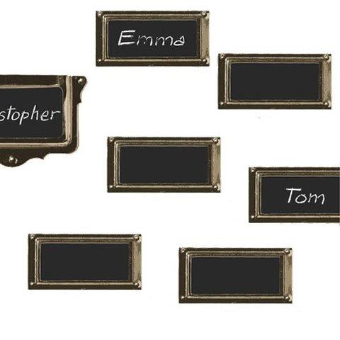 Nouvelles Images muursticker krijtbord etiketten