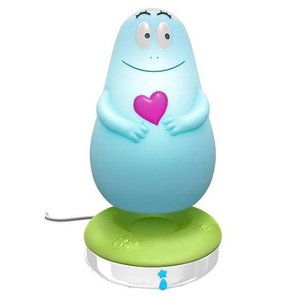Pabobo Pabobo Lumilove nachtlampje barbapapa blauw