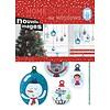 Nouvelles Images raamsticker kerstballen
