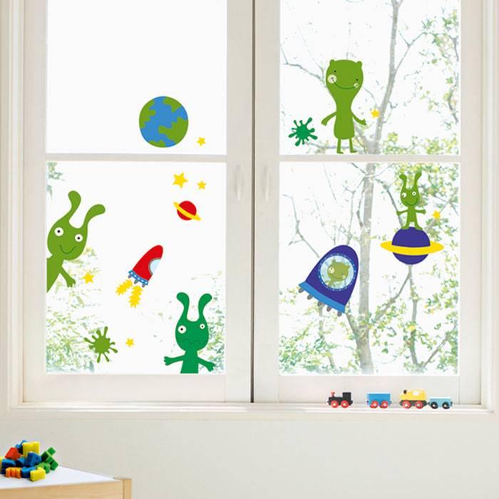 Raamstickers Voor Kinderkamer.Nouvelles Images Nouvelles Images Raamsticker Kinderkamer Xl