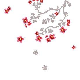 Nouvelles Images Nouvelles Images muursticker bloesem cherry blossom