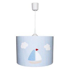 Waldi-Leuchten Hanglamp zeilboot strepen