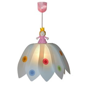 Waldi-Leuchten Kinderlamp bloem prinses