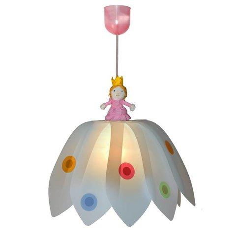 Kinderlamp bloem prinses